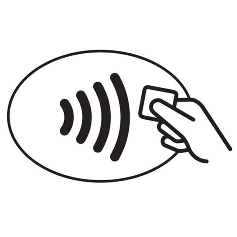 Icon for contactless payment
