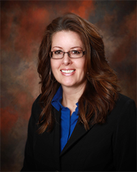 Photo of Marci Andres, Vice President and Loan Officer for Union State Bank.